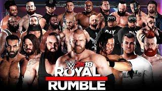 Download WWE 2K18 - 30 Man Royal Rumble Match! 3Gp Mp4