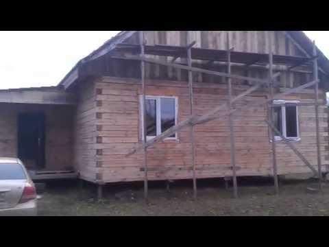 Строим дом из бруса для постоянного проживания! Что уже сделали!
