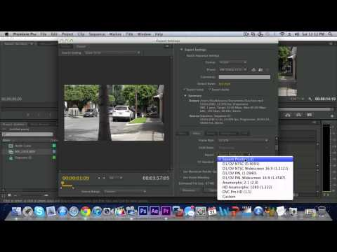 Best Export Settings In Premiere Pro CS6