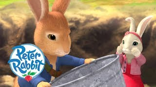 Peter Rabbit - Trying to Catch Worms | Cartoons for Kids