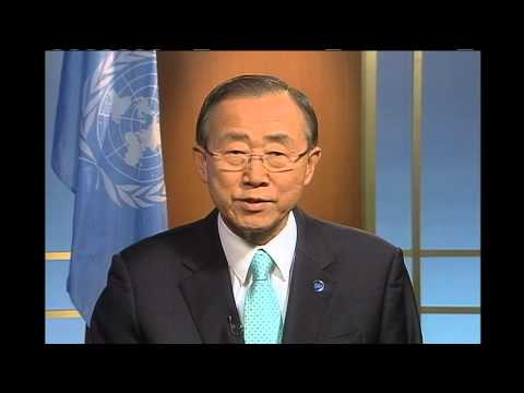 United Nations Secretary-General Ban Ki-moon video message from Rio + Social
