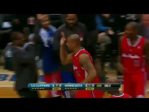 Caron Butler FUNNY CELEBRATION | Clippers vs timberwolves | Jan 30 2013