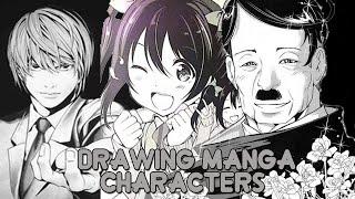 Drawing Manga/Anime Characters (Part 1)