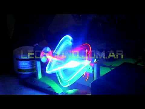 Dönen RGB LED topu yapımı