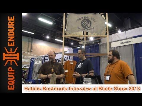 Habilis Bushtools Interview at Blade Show 2013