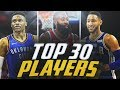 Top 30 Players in the NBA