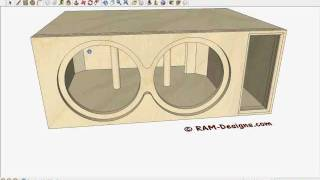 ram designs gold 10 quot bandpass box design by play ram designs 4 kicker cvr 10