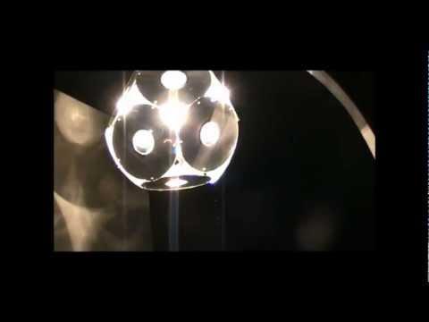 Люстра из дисков видео