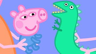 Peppa Pig English Episodes | Baby George and Mr Dinosaur!  #PeppaPig