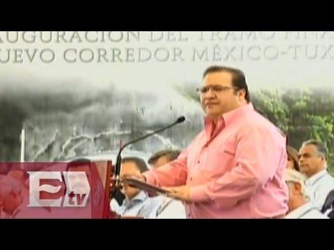 Javier Duarte ve grandes beneficios para Veracruz con el corredor México-Tuxpan/ Darío Celis