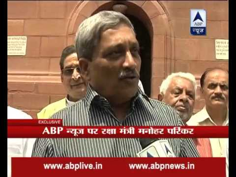 Over AgustaWestland deal, I will reply in the house: Manohar Parrikar tells ABP News