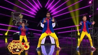 Super Dancer Chapter 3 : Semi Final Super Five | Saksham Sharma With Akash Thapa Dance Moves