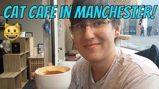 Manchester Vlog (Cat Cafe and Taco Bell)
