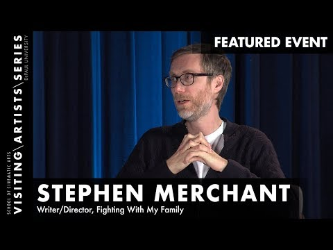 Stephen Merchant, Writer/Director, Fighting With My Family I DePaul VAS