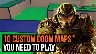 10 custom Doom maps you need to play right now