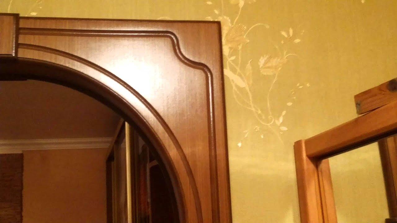 Установка дверной арки своими руками 71