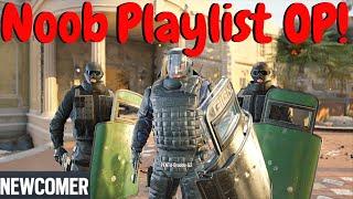 Trolling the Newcomer Playlist in Rainbow Six Siege