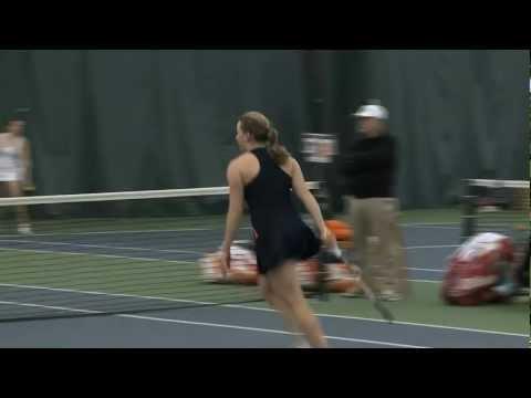 Womens tennis edges rutgers