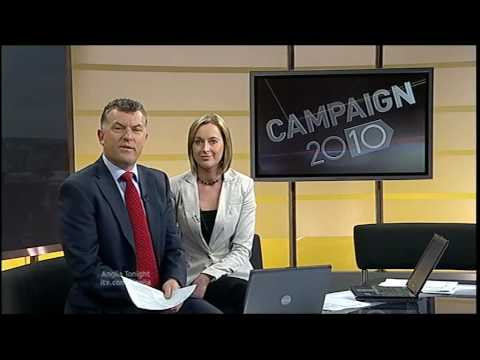Anglia News Father of Dinah McNicol & Cabbie And Smokers & Campaign 2010 General Election Clacton
