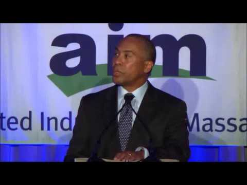 Governor Deval Patrick Speaks to AIM