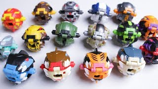 Unboxing ALL Power Rippers the NEW Beyblade cross Bakugan Toys