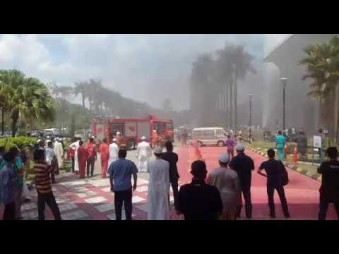 Kebakaran Kecil Masjid Negeri Selangor,  Shah Alam