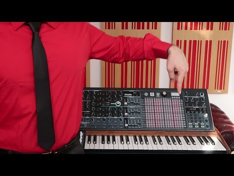 How To Be A Kraftwerk With ONE Synthesizer