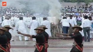 Last Rites Ceremony of Former PM Atal Bihari Vajpayee at Smriti Sthal in Delhi