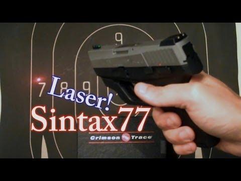 Crimson Trace Laser for Taurus 740 & 709 Slim (.40 cal sub-compact)