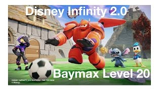 Disney Infinity 2.0 Baymax Level 20 Skill Overview