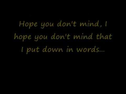 Moulin Rouge - Your song lyrics