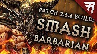 Diablo 3 Season 17 Barbarian Immortal King HOTA GR 123+ build guide - Patch 2.6.5