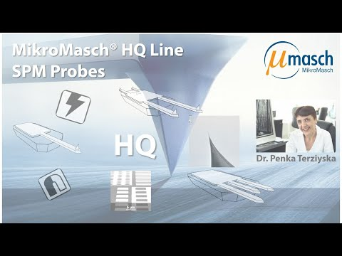 <h3>Product Screencast on High Quality SPM Probes</h3> Presented by Dr. Penka Terziyska <br />Product Manager