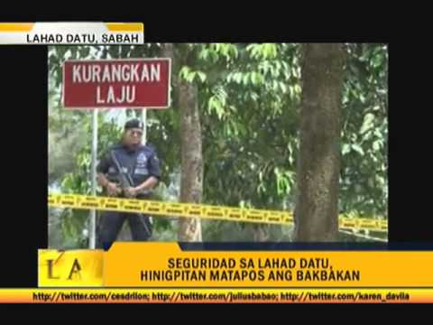 12 supporters of sultan killed in Sabah clash
