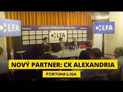 Cestovní kancelář Alexandria je partnerem fotbalové ligy