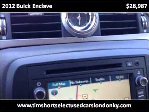 2012 Buick Enclave Used Cars London KY