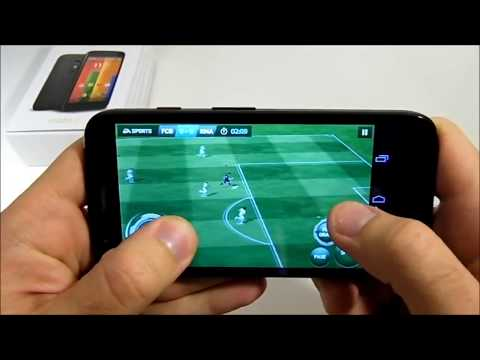Motorola Moto G: Fifa 2014 test Android (Gaming)