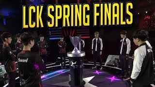 LCK Spring 2019 Finals - Griffin vs SKTelecom T1 Highlights