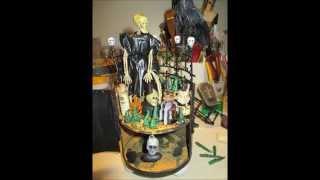 Halloween Altered Round Box, Part 2 - jennings644