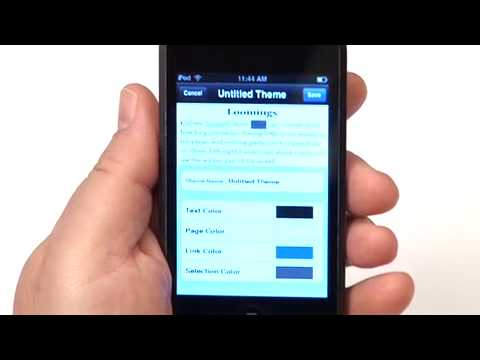 A demonstration of eReader version 2.1 for iPhone, which includes new features such as cover display, coverflow mode, book information display and editing, and more. Part 1 of 2.