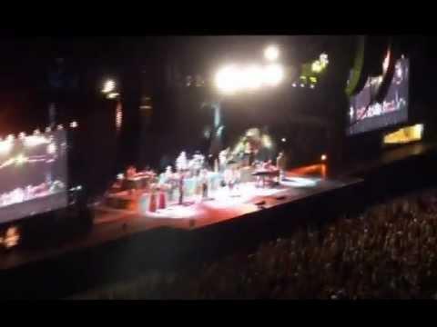 Jimmy Buffett & Lionel Richie Clips - Comerica Park Detroit, MI