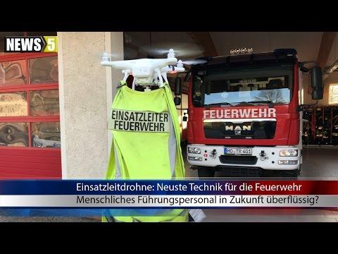 01.04.2017 (HO) Einsatzleitdrohne: Neueste Technik für die Feuerwehr