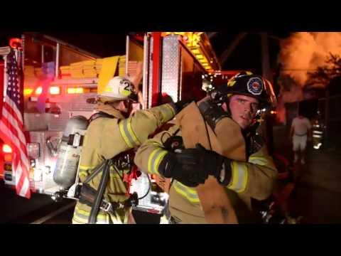 Fire Destroys Riverside Building