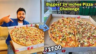 Biggest Pizza Challenge    25 inches Monster Pizza    La Pino'z Pizza   