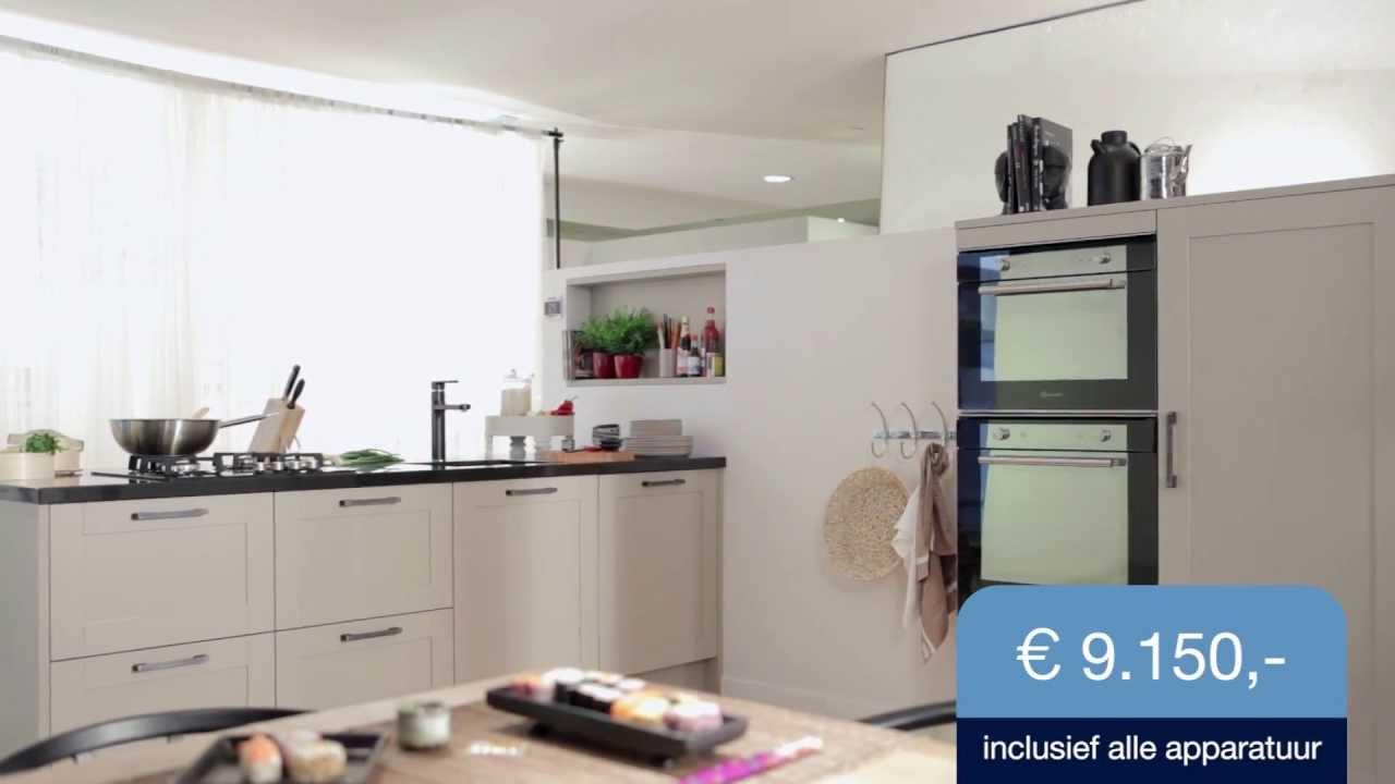 Bekijk de keuken anillio ii m collectie mandemakers keukens youtube - Keuken m ...