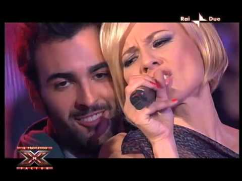 """Antonella Elia canta """"E' l'uomo per me"""" –  Processo X Factor"""