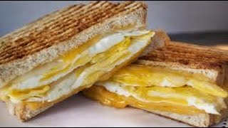 [Quick & Delicious Egg & Cheese Sandwich!!] Video