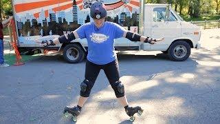 2 Quad Roller-Skating Tricks | Roller-Skate