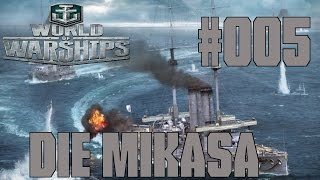 """Let's Show [GER] - World of Warships (Beta) [HD] #005 - Die """"Mikasa"""""""