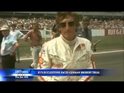 F1's Ecclestone Faces German Bribery Trial